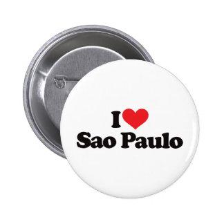 I Love Sao Paulo Pin