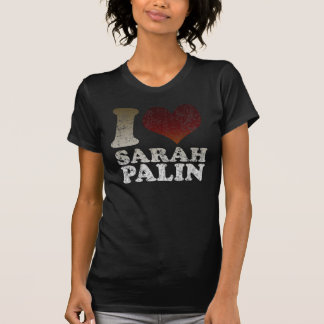 I love Sarah Palin Dark t shirt