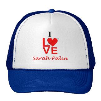 I Love Sarah Palin Mesh Hats