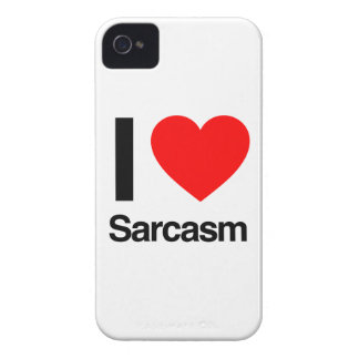 i love sarcasm iPhone 4 cover