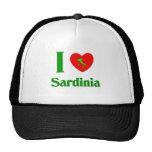 I Love Sardinia Italy Hats