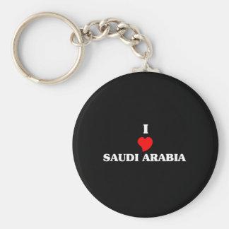 I Love Saudi Arabia Keychains