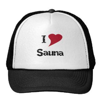 I Love Sauna Mesh Hat