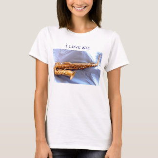I Love Sax (ophone) T-Shirt