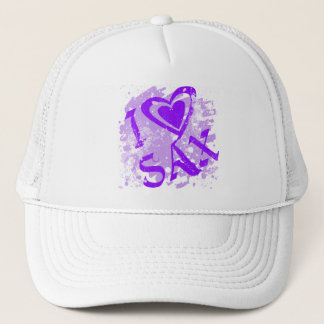 I LOVE SAX TRUCKER HAT