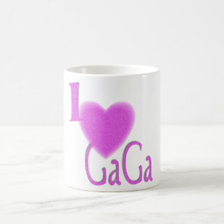 i love saying gogo gaga coffee mug