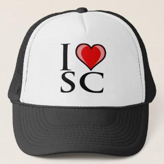 I Love SC - South Carolina Trucker Hat