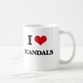 I Love Scandals Coffee Mug