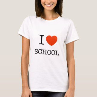 I love school student / teacher gift tee
