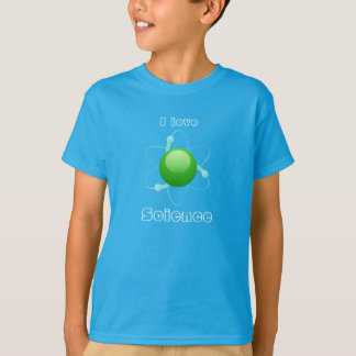 """I Love Science"" Atom T-Shirt"