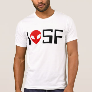 I Love Science Fiction (retro 1) T-Shirt