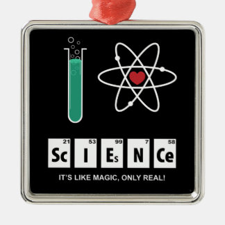 I Love Science - Ornament
