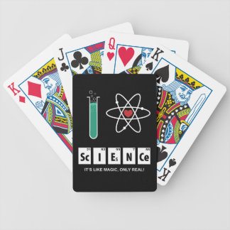 I Love Science - Playing Cards