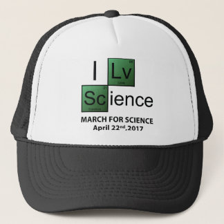 I Love Science Trucker Hat