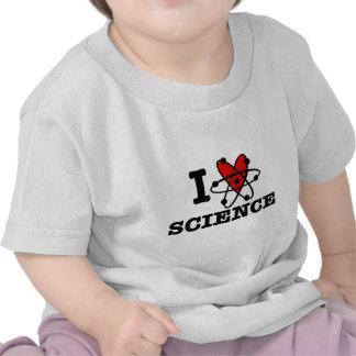 I Love Science Tees