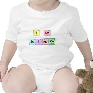 I Love Science Tshirt