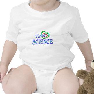 I Love Science Romper