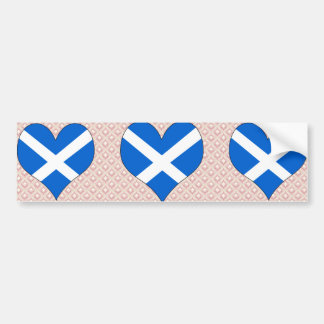 I Love Scotland Bumper Sticker