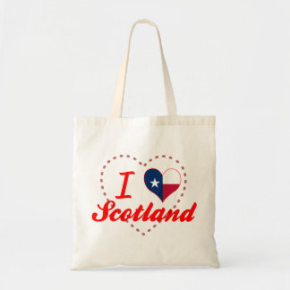 I Love Scotland, Texas Tote Bag