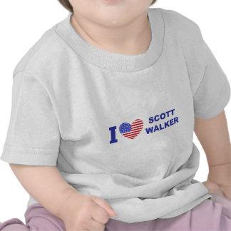 I Love Scott Walker Shirt