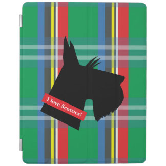 I Love Scotties iPad 2/3/4 Cover iPad Cover