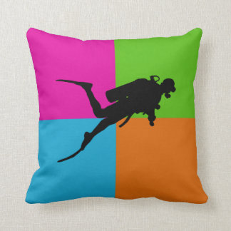 I love scuba diving - homeware cushion