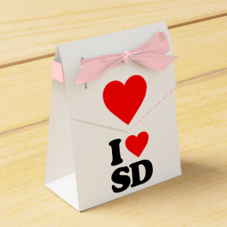I LOVE SD PARTY FAVOR BOX