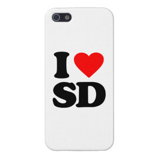 I LOVE SD iPhone 5/5S COVER