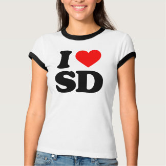 I LOVE SD T-Shirt