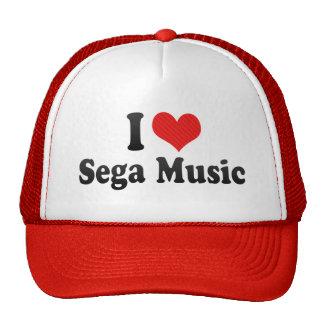 I Love Sega Music Trucker Hat