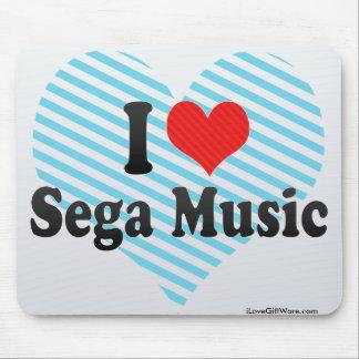 I Love Sega Music Mousepad