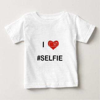 I Love Selfie V2 Baby T-Shirt