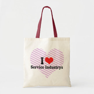 I Love Service Industrys Tote Bag