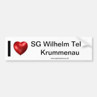 I Love SGWT Bumper Sticker