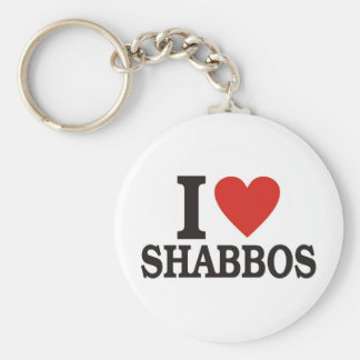 I love Shabbos Key Ring