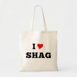I Love Shag Tote Bag
