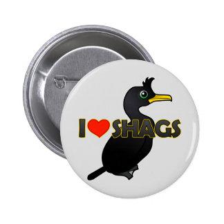 I Love Shags 6 Cm Round Badge