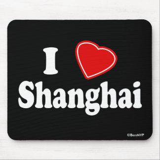 I Love Shanghai Mouse Pad