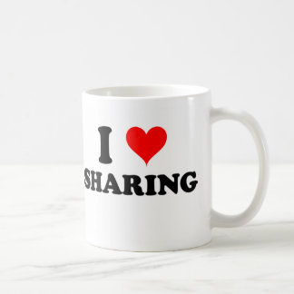 I Love Sharing Coffee Mug