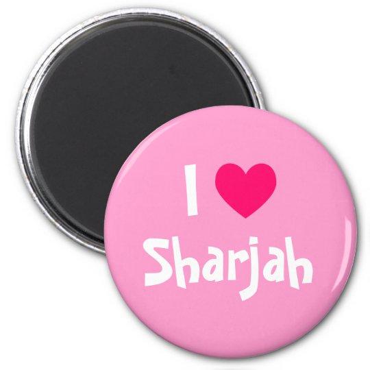 I Love Sharjah Magnet