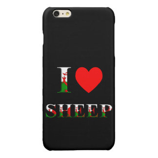 I Love Sheep (Welsh) iPhone 6/S PLUS (any colour)