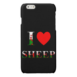 I Love Sheep (Welsh version) iPhone 6/6s case