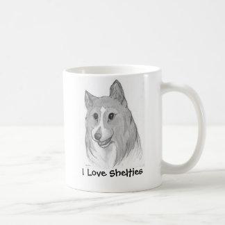 I Love Shelties Mug