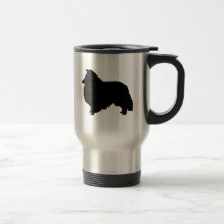 I Love Shelties Travel Mug