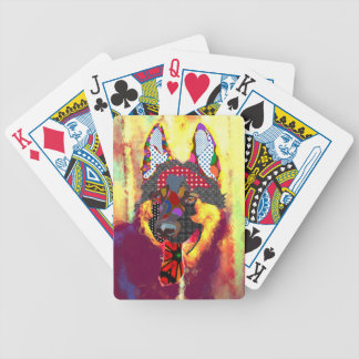 I love shepherd bicycle playing cards