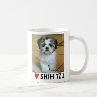 I Love Shih Tzu Basic White Mug