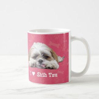 I Love Shih Tzu Coffee Mug