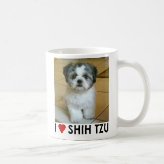 I Love Shih Tzu Basic White Mug