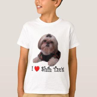 I Love Shih Tzu Tshirts