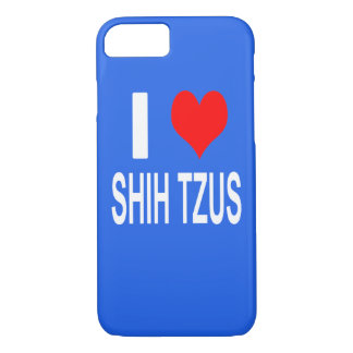 I Love Shih tzus Phone Case